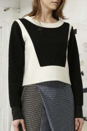 'Xavier' Color Block Sweater